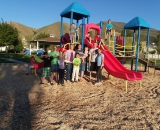 Sarah Willden Garcia and Christie Peterson Cook and neighbors at Rancho Park.jpg