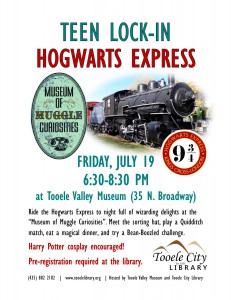 Harry Potter Hogwarts Express (After-Hours for Teens) @ Tooele Valley Museum | Tooele | Utah | United States