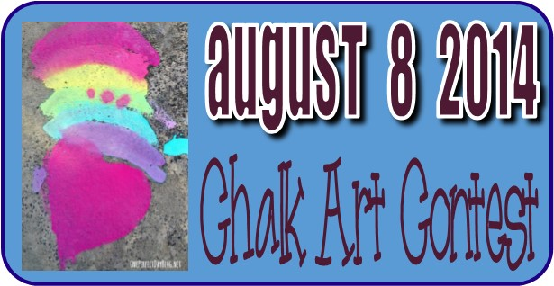 Chalk Art Contest August 2014