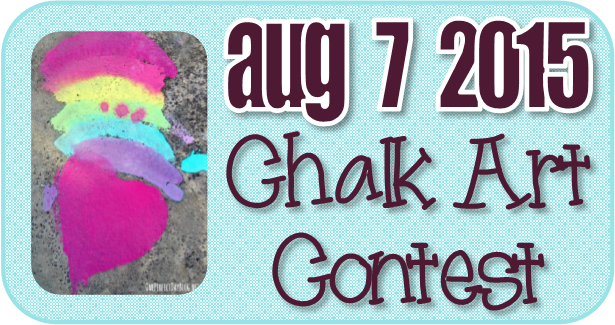 Chalk Art Contest August 2015