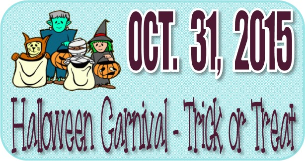 Family Halloween Carnival & Trick or Treat 2015