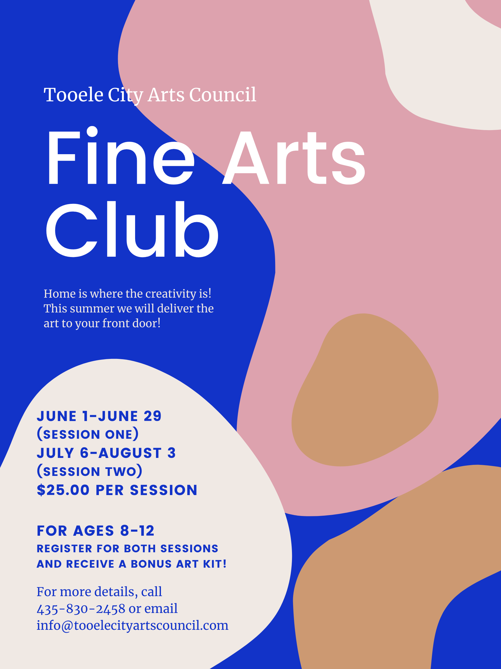 Fine Art Club - Summer 2020 (June Session) @ See details | Tooele | Utah | United States