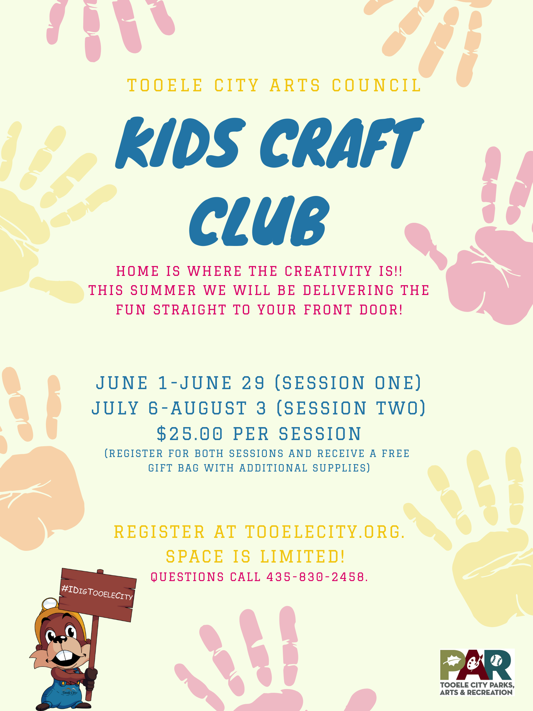 Kids Craft Club - Summer 2020 (June Session) @ See details | Tooele | Utah | United States