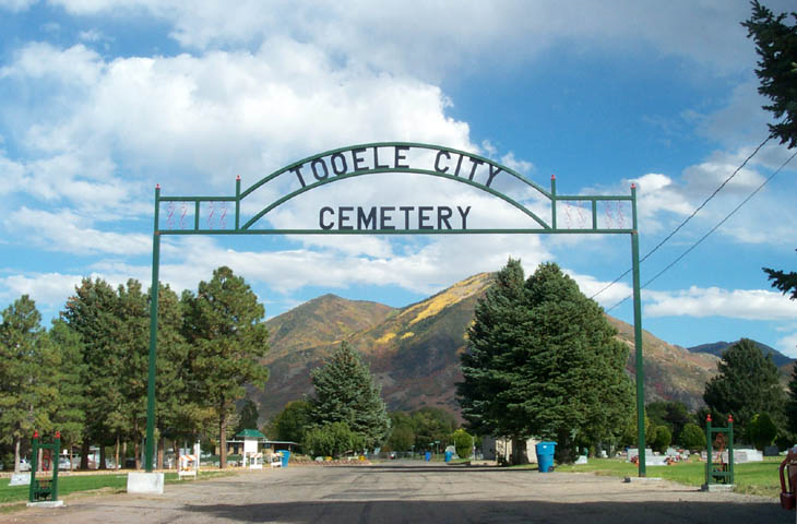 Cemetery Clean Up @ Tooele City Cemetery