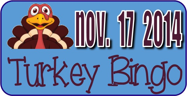 Turkey Bingo November 2014