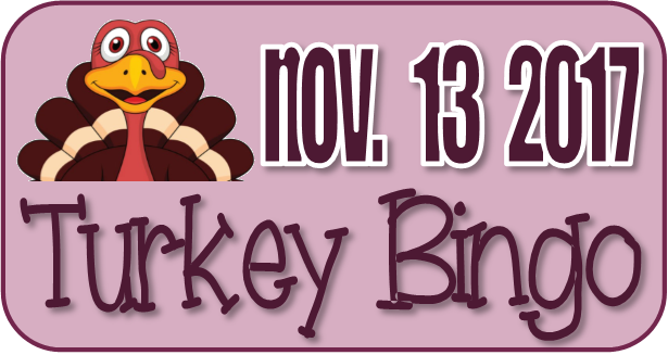 Turkey Bingo November 2017