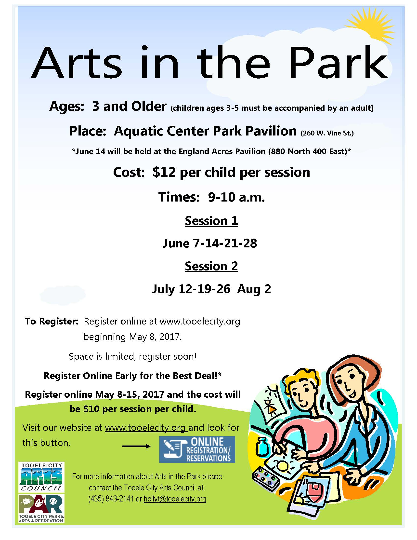 Arts in the Park 2017_updated