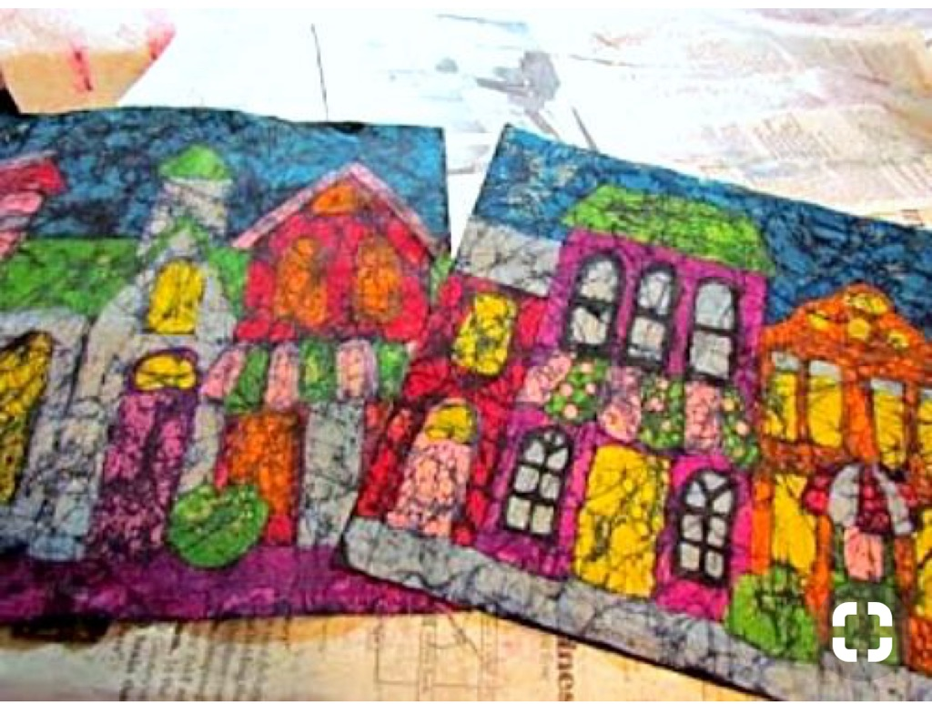 Children's Fine Art Club: Crayon Batik Fabric Art @ Tooele City Hall | Tooele | Utah | United States