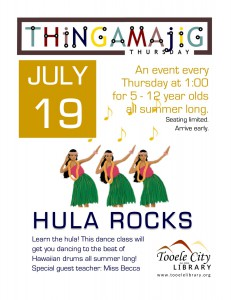 Thing-A-Ma-Jig Thursday: Hula Rocks! @ Tooele City Library | Tooele | Utah | United States