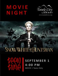 Teen Time: The Huntsman Winter War (Movie) @ Tooele City Library | Tooele | Utah | United States