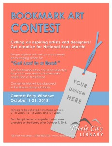 Library: Bookmark Art Contest @ Tooele City Library | Tooele | Utah | United States