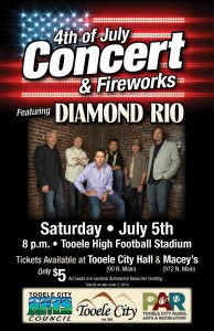4th of July Concert 2014 - Poster