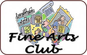 Fine Arts Club - Registration Required