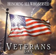 VETERAN'S DAY (Observed)