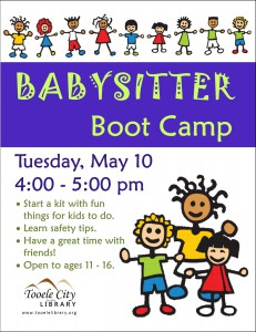Babysitter Boot Camp @ Tooele City Library | Tooele | Utah | United States