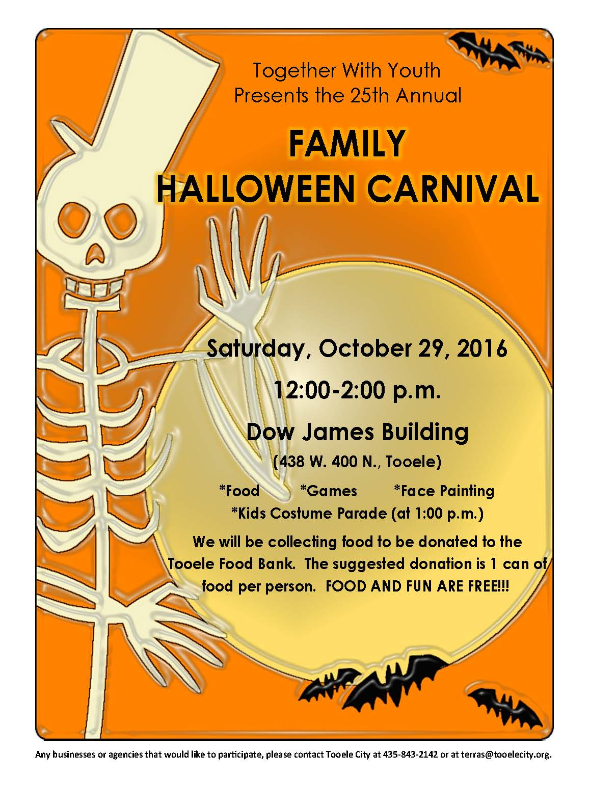 Family Halloween Carnival 2016 @ Dow James | Tooele | Utah | United States