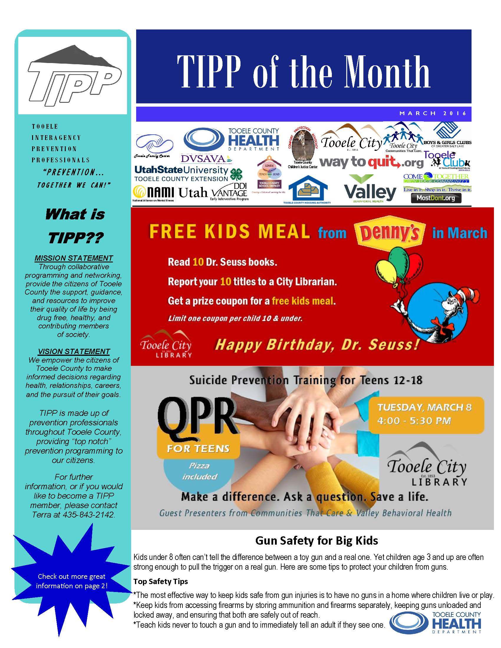 TIPP Newsletter March 2016