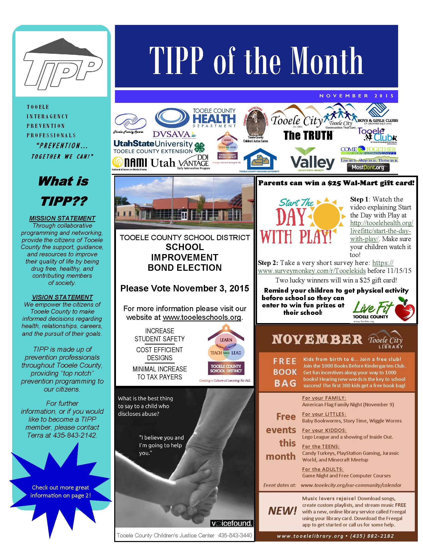 TIPP Newsletter November 2015