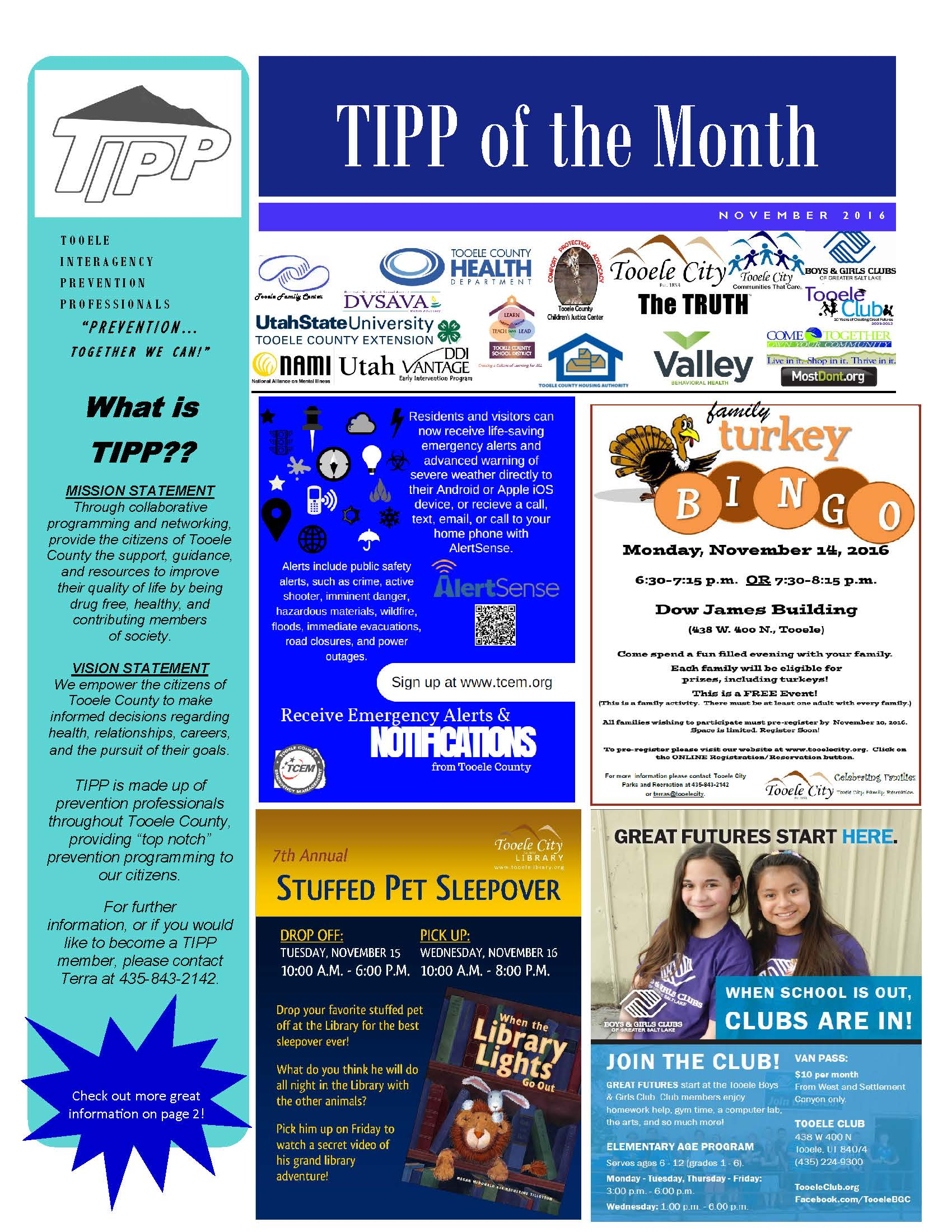 TIPP Newsletter November 2016
