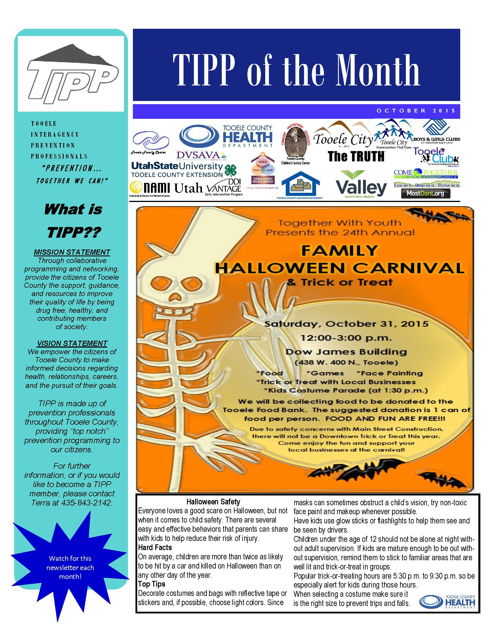 TIPP Newsletter October 2015