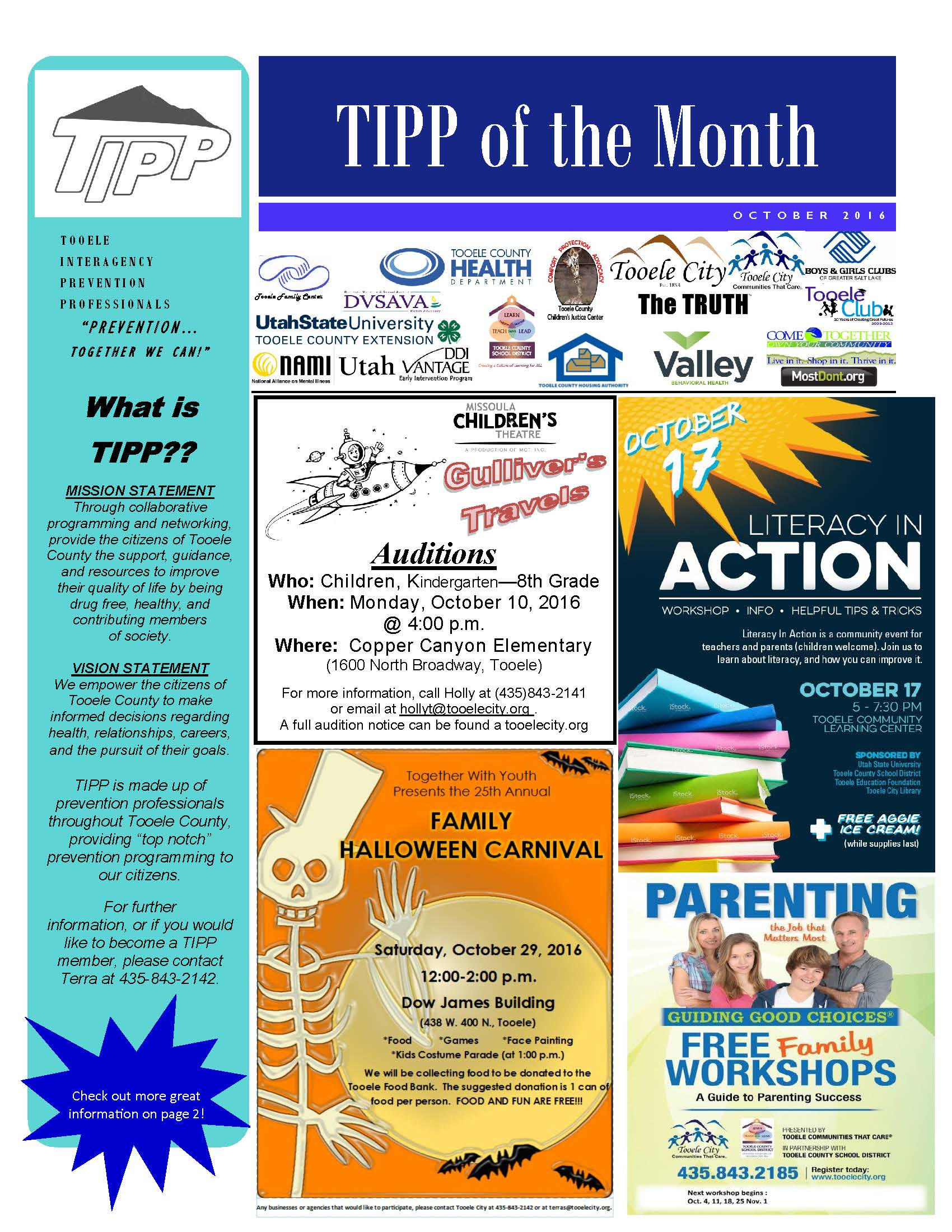 TIPP Newsletter October 2016