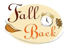 Daylight Savings Ends - Turn Clocks Back 1 Hour!