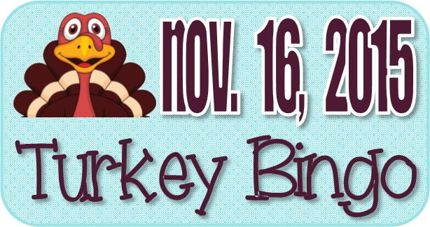 Turkey Bingo November 2015 Button