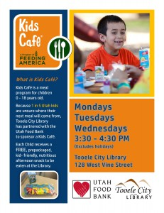 Library: Kids Cafe @ Tooele City Library | Tooele | Utah | United States