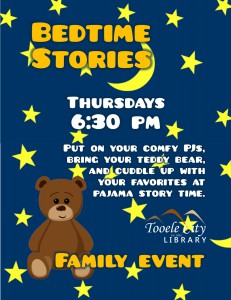 Bedtime Stories @ Tooele City Library | Tooele | Utah | United States