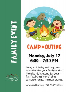 Family Event: Camp-Outing @ Tooele City Library | Tooele | Utah | United States