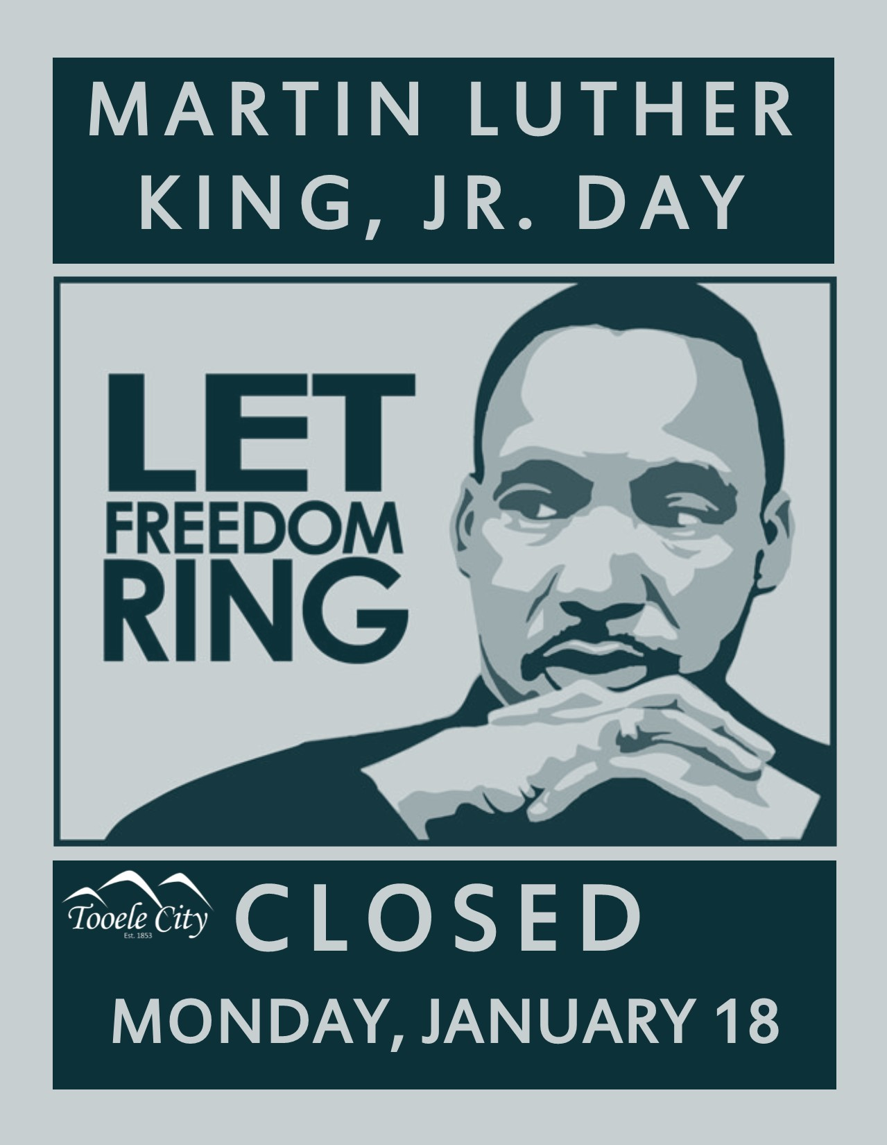 Martin Luther King Holiday 2016 Calendar | Calendar Template 2016