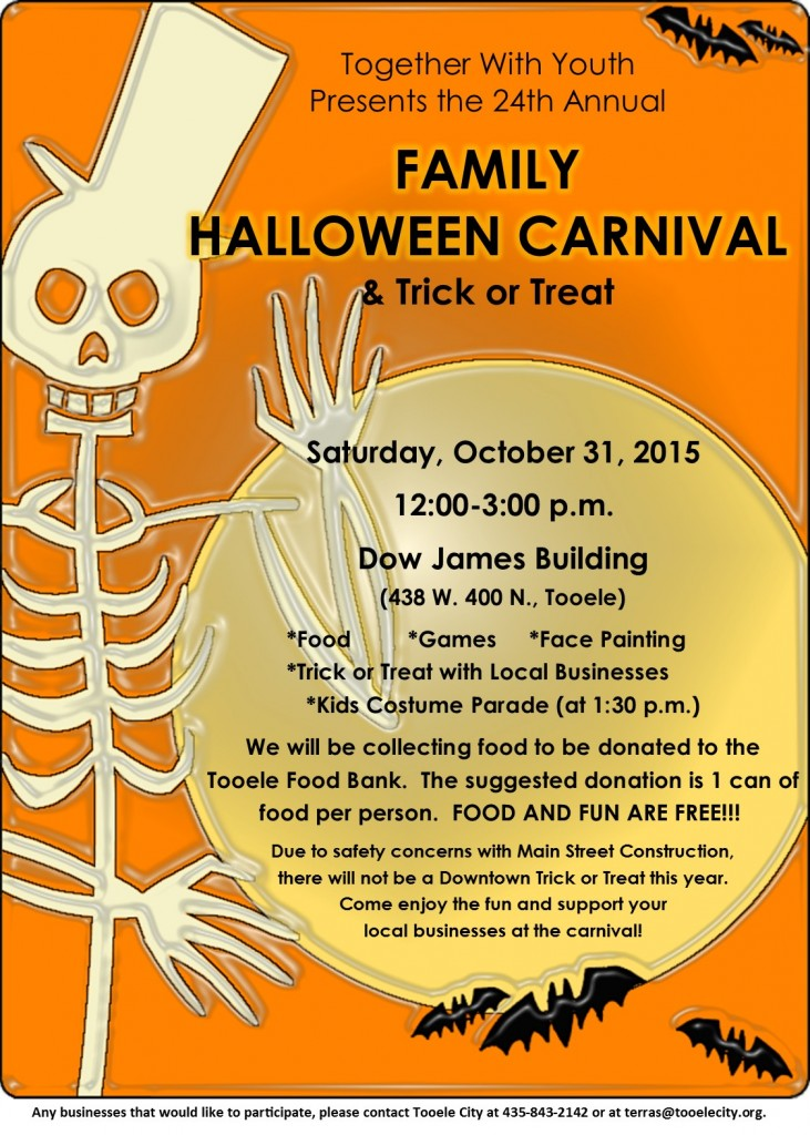 Family Halloween Carnival & Trick or Treat
