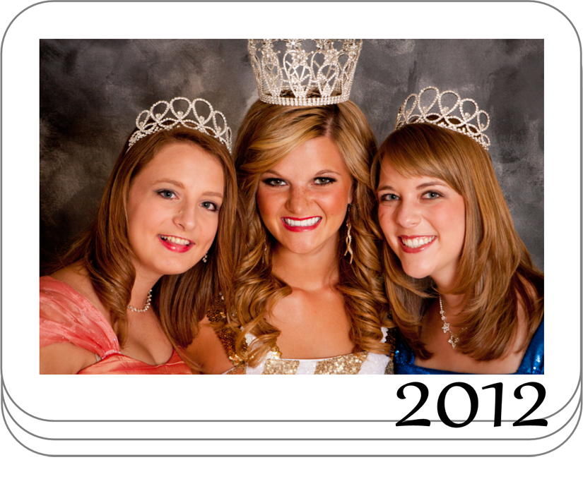 2012 Miss Tooele City Royalty