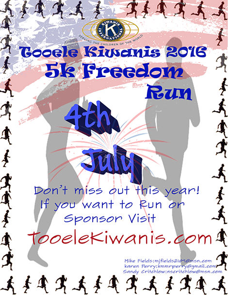 5K Freedom Run 2016 @ Starts at 777 East Skyline Drive | Tooele | Utah | United States