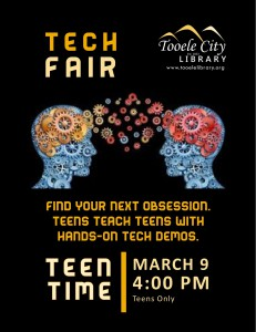 Teen Time: Tech Fair @ Tooele City Library | Tooele | Utah | United States