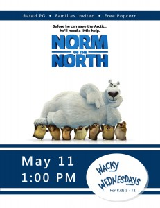 Wacky Wednesday!: Norm of the North @ Tooele City Library | Tooele | Utah | United States