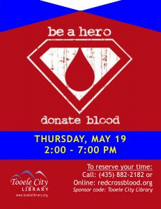 Hero Blood Drive @ Tooele City Library | Tooele | Utah | United States