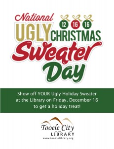 Library: Ugly Sweater Day @ Tooele City Library | Tooele | Utah | United States