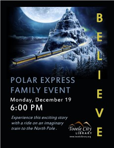 Library: Polar Express Family Event @ Tooele City Library | Tooele | Utah | United States