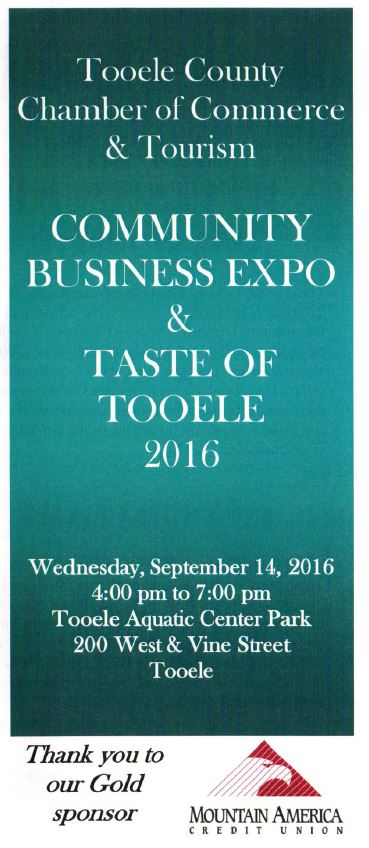 Community Business Expo and Taste of Tooele 2016 @ Aquatic Center Park | Tooele | Utah | United States