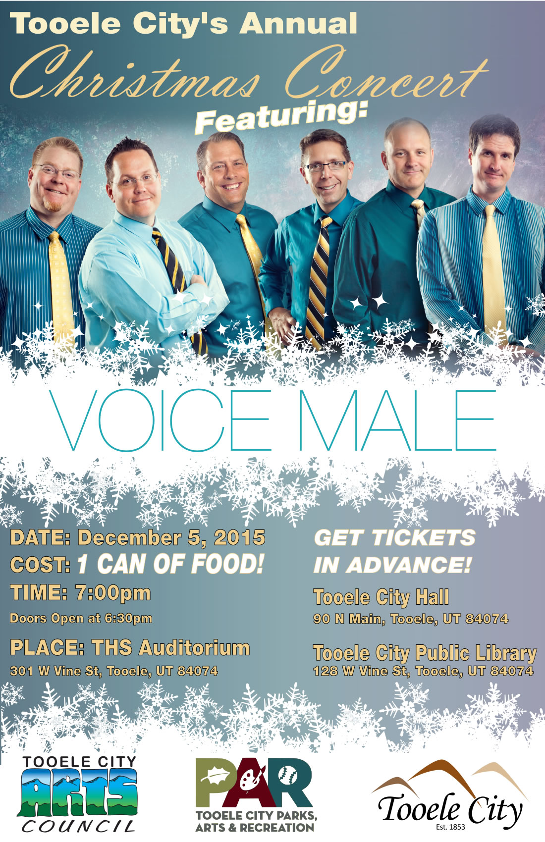 2015 Christmas Concert Voice Male