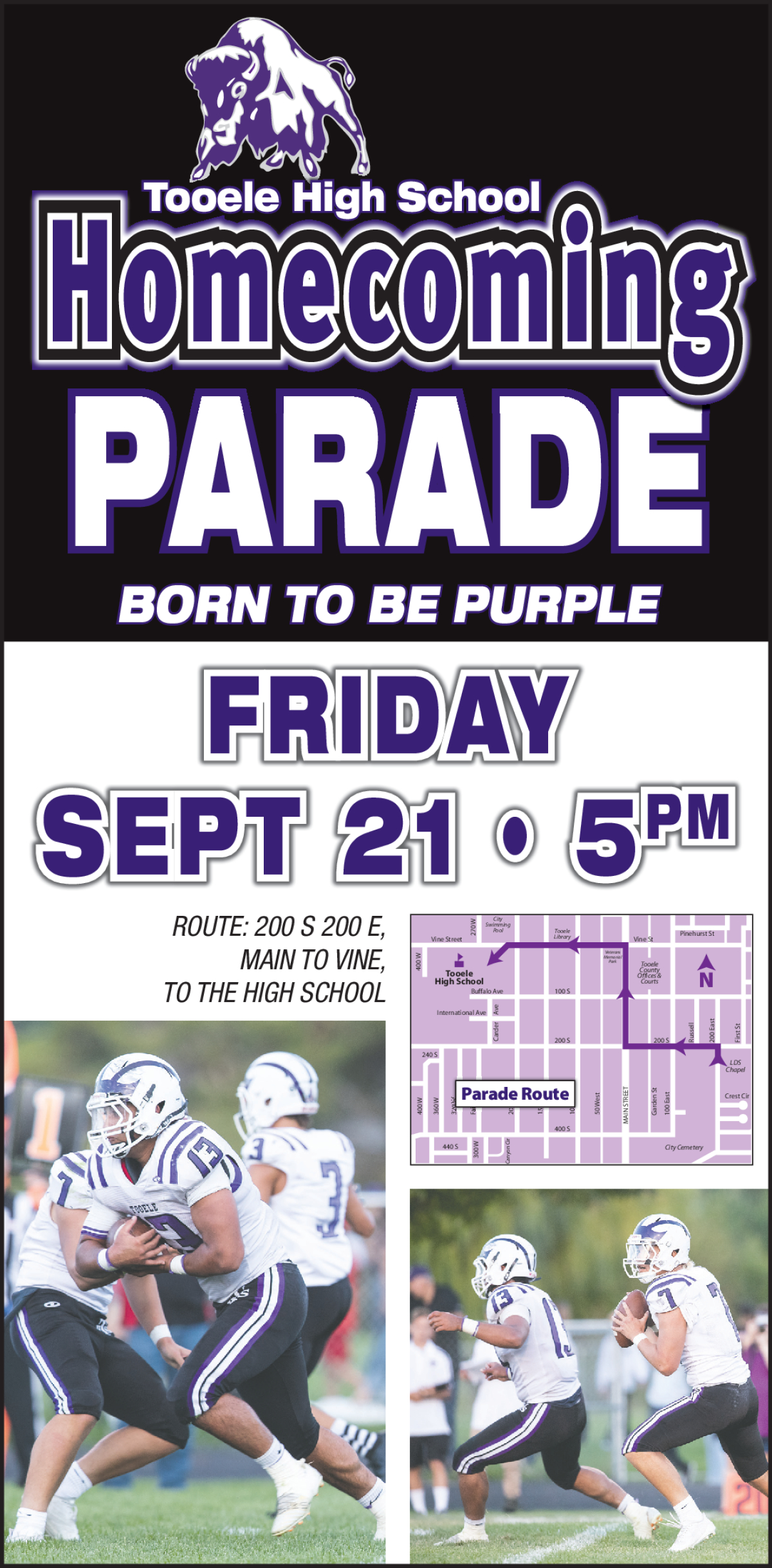 Tooele High School Homecoming Parade @ Main Street Tooele | Tooele | Utah | United States