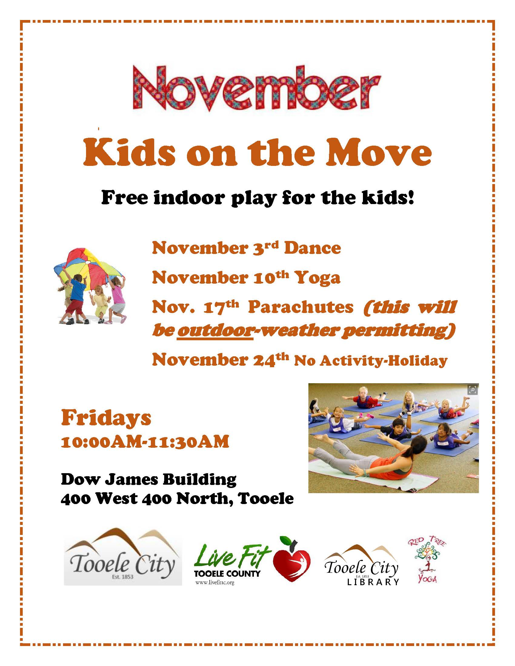 Kids On The Move November 2017