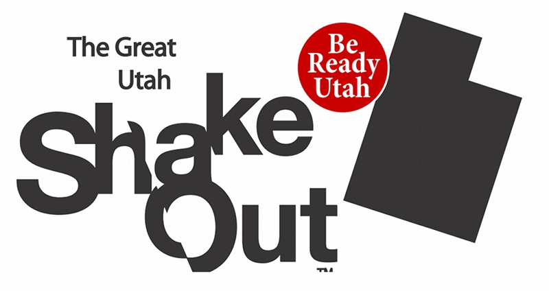 Be Ready Utah! The Great Utah Shake Out!