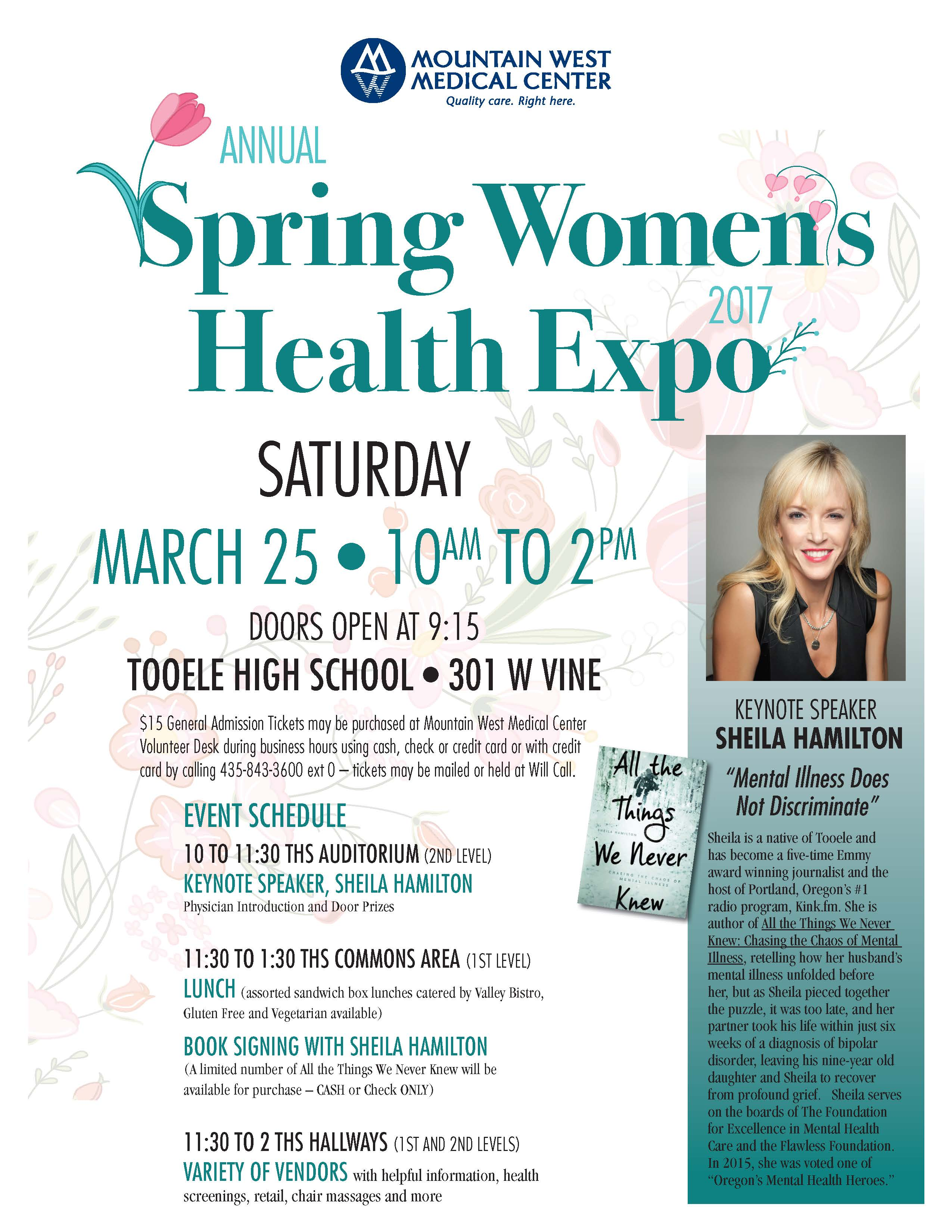 Spring Women's Health Expo 2017 @ Tooele High School | Tooele | Utah | United States