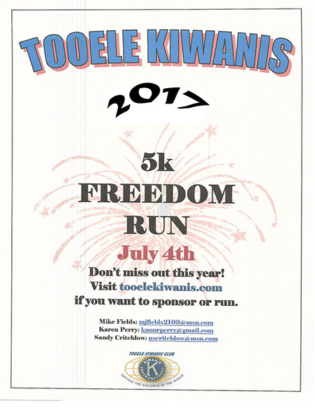 5K Freedom Run 2017 @ Starts up Settlement Canyon | Tooele | Utah | United States