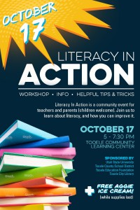 Literacy In Action Night @ Tooele Community Learning Center | Tooele | Utah | United States