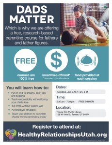 Dads Matter @ Tooele City Library | Tooele | Utah | United States
