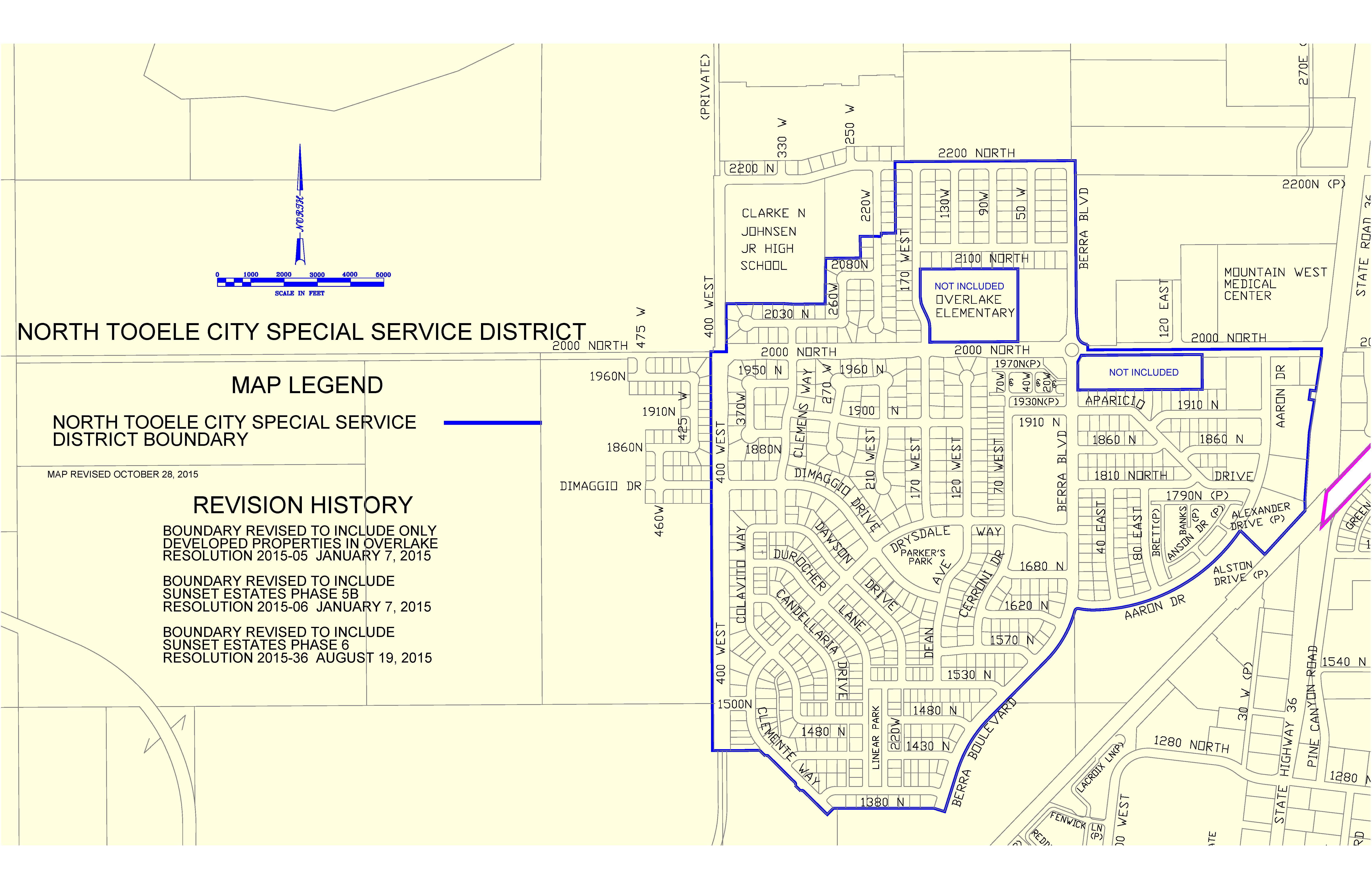 North Tooele City Special Service District Tooele City