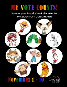 Library: Kids Vote! @ Tooele City Library | Tooele | Utah | United States